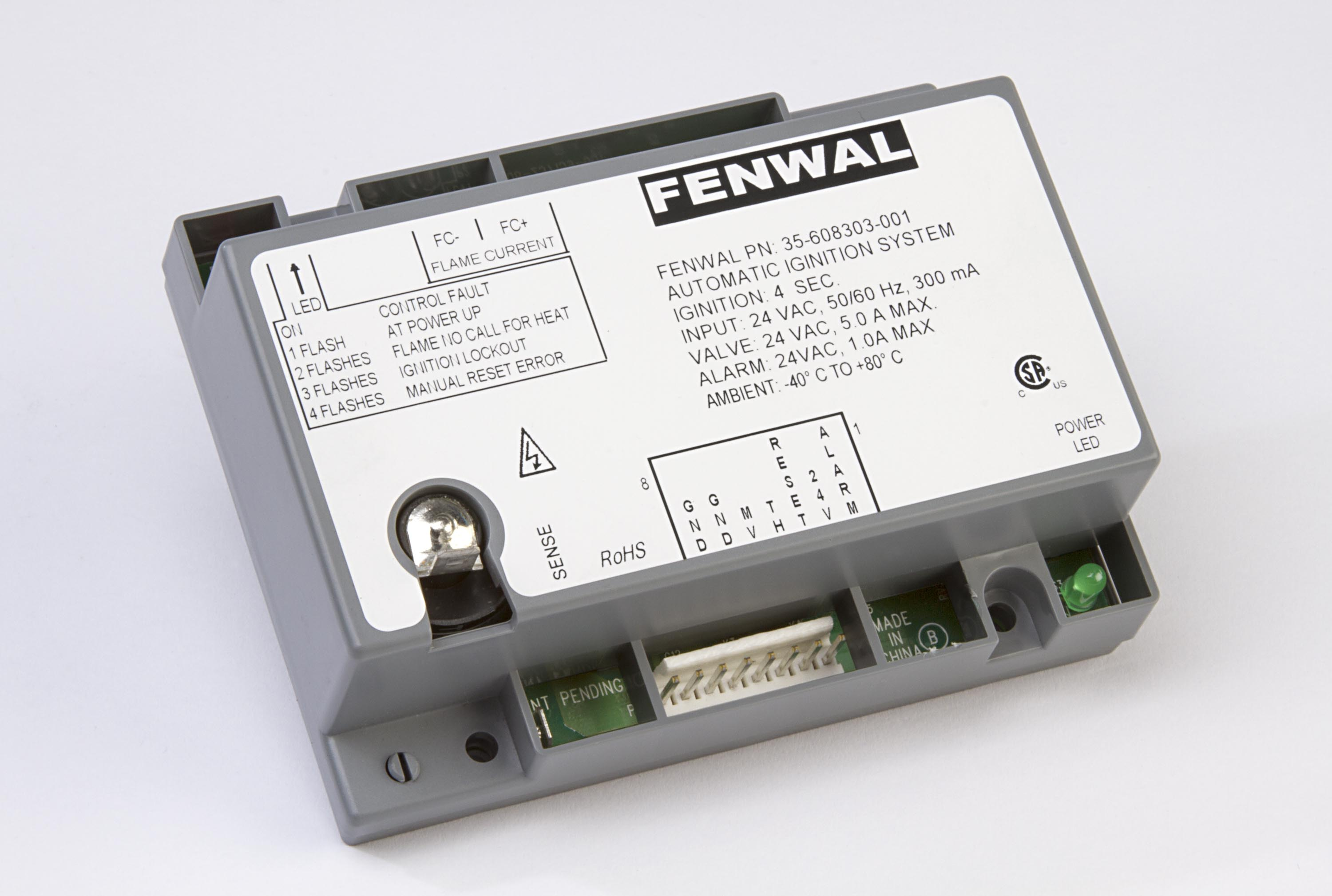 Fenwal Controls Electricity Electronics And Wiring Diagrams For Hvac R Pdf 35 608400 Series