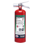 Badger Extra - Halotron 1 Fire Portable Extinguisher