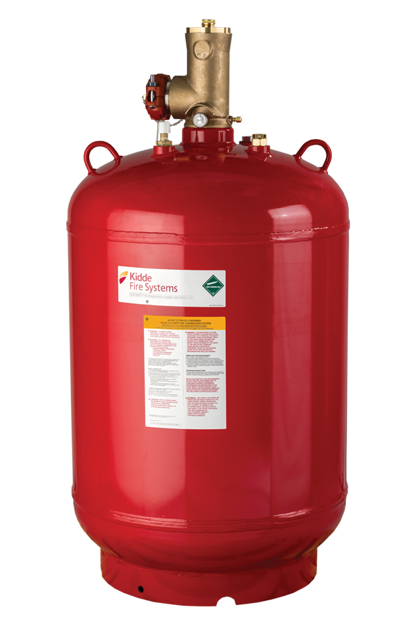 Ecs 500 Psi Clean Agent Suppression System With 3m Novec 1230 Fire Protection Fluid Kidde Fire Systems