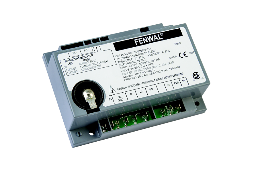 FENWAL TERMPERATURE CONTROL FACE PLATE FOR SERIES 400